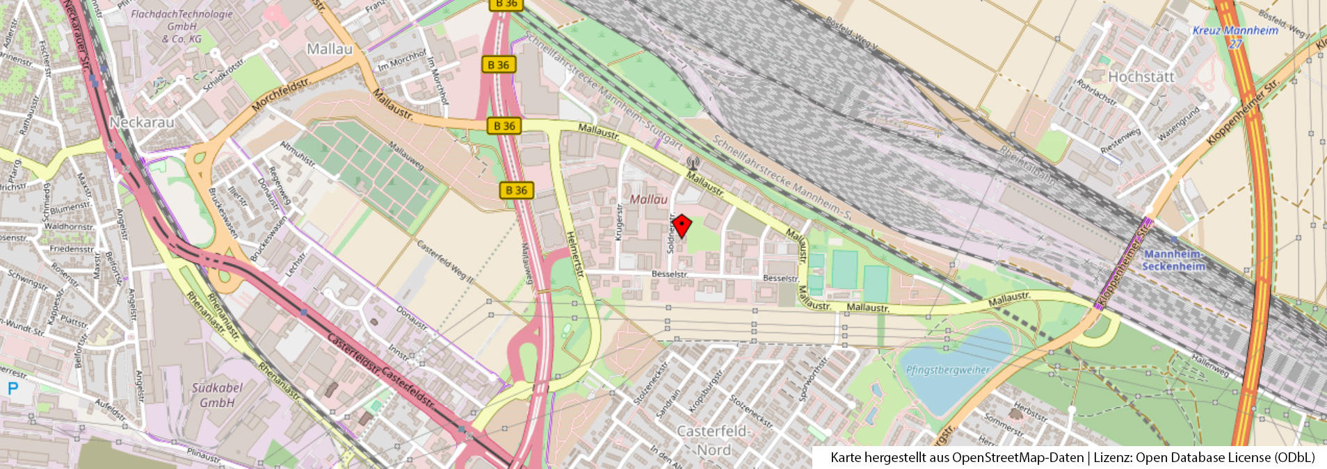 Karte DVST